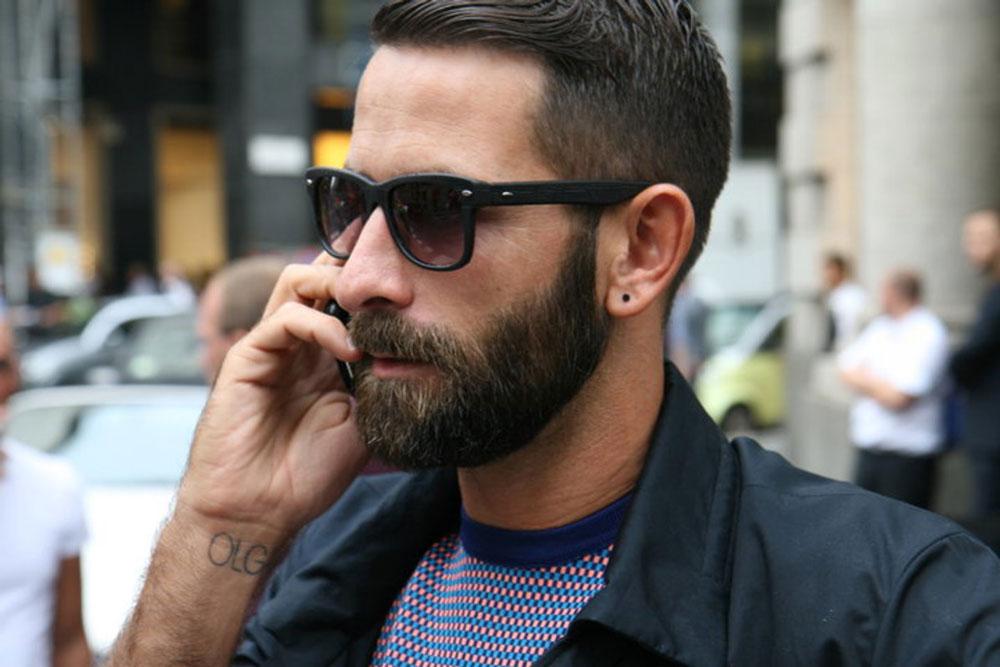 Фото мужчин в очках и с бородой - подборка 20 картинок (8)