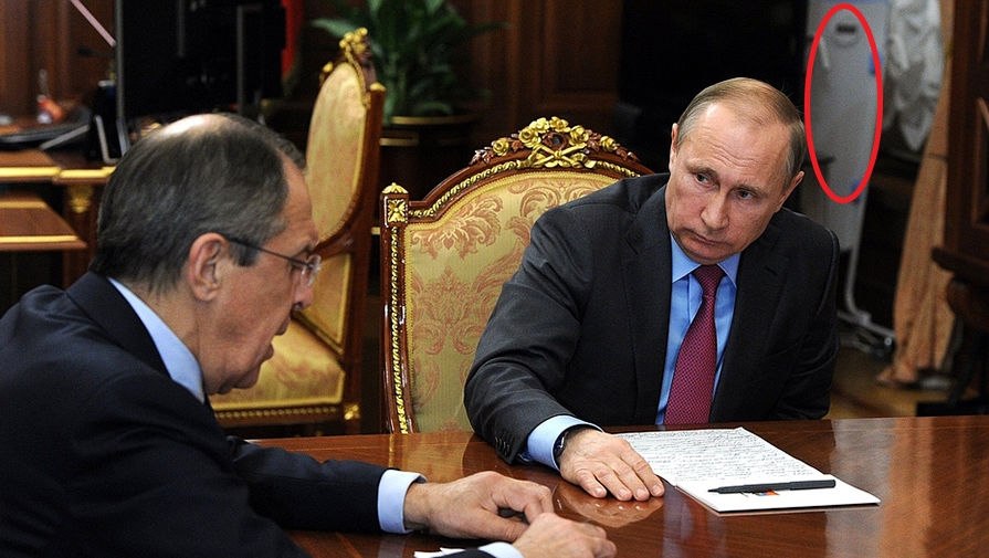 фото Путина в кабинете (7)