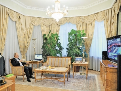 фото Путина в кабинете (9)