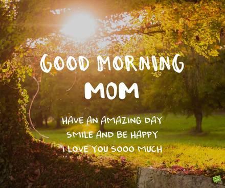 Доброе утро мама - красивые и милые открытки, картинки (6)