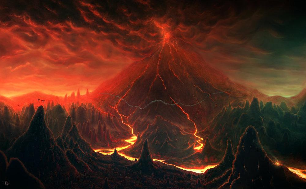 Как себя вести при извержении вулкана (1)