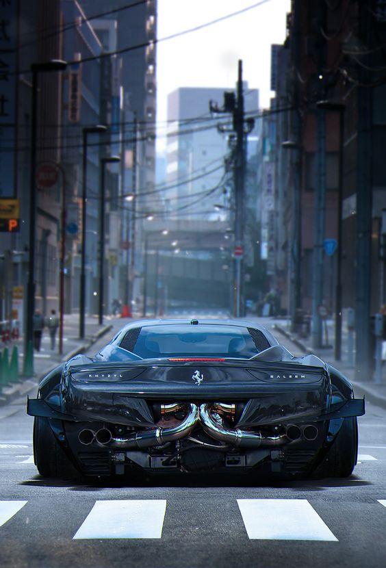 Красивые автомобили вид сзади - качественная подборка фото (13)