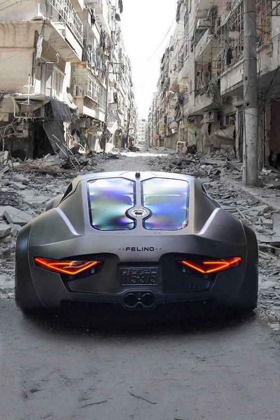 Красивые автомобили вид сзади - качественная подборка фото (3)