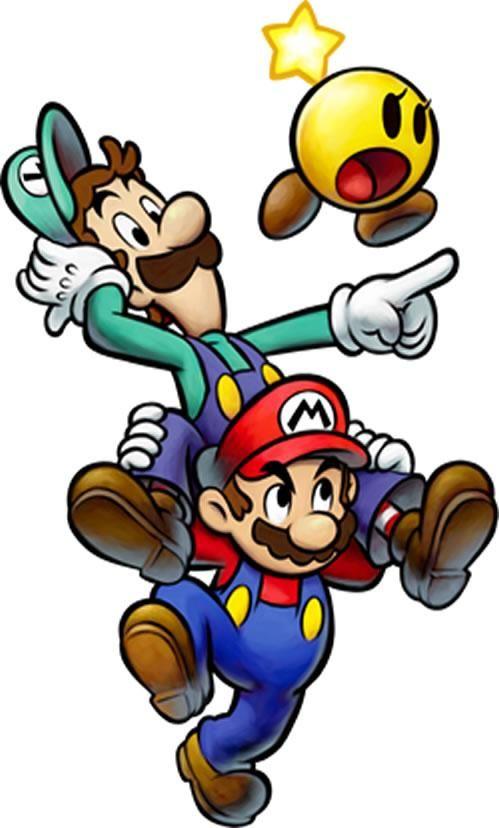 Луиджи и Марио - красивые картинки карандашом, арты (1)