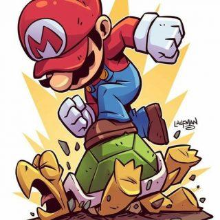 Луиджи и Марио   красивые картинки карандашом, арты (10)