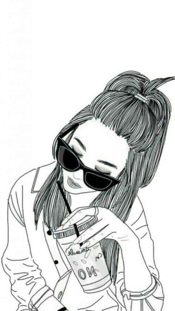Аниме картинки нарисованные девочки (11)
