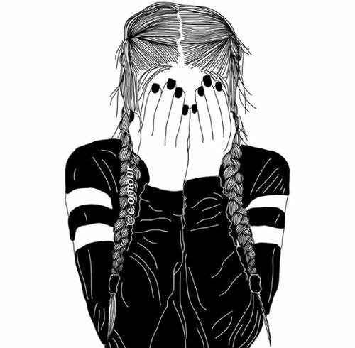 Аниме картинки нарисованные девочки (34)