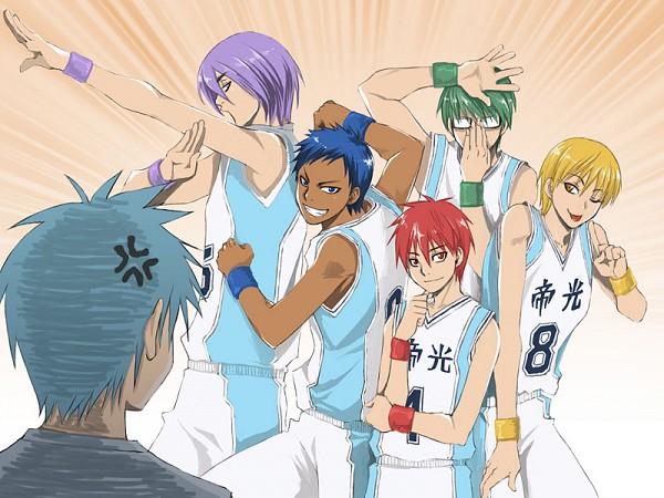 Аниме комиксы баскетбол Куроко (13)