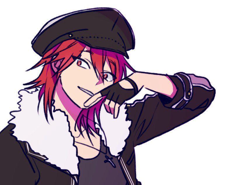 Аниме персонажи с короткими красными волосами (14)