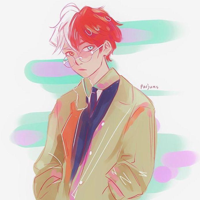 Аниме персонажи с короткими красными волосами (17)