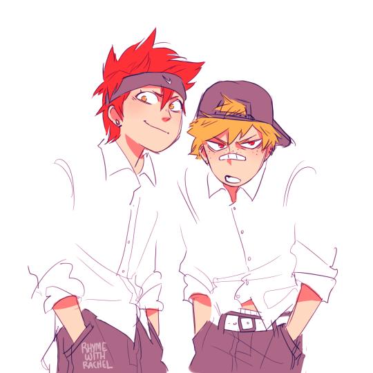 Аниме персонажи с короткими красными волосами (2)