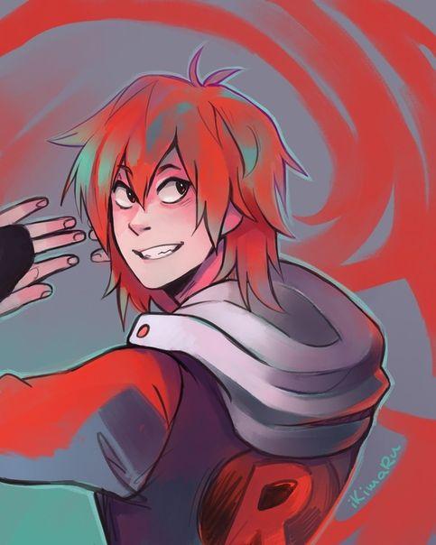 Аниме персонажи с короткими красными волосами (21)