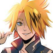 Аниме персонажи с короткими красными волосами (3)