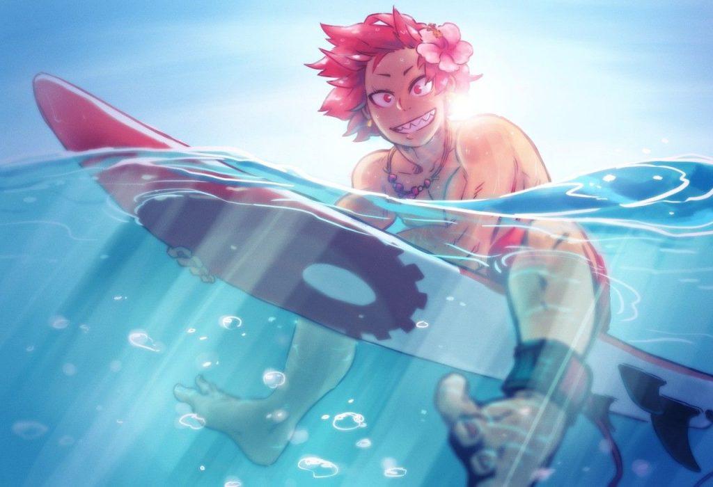 Аниме персонажи с короткими красными волосами (4)