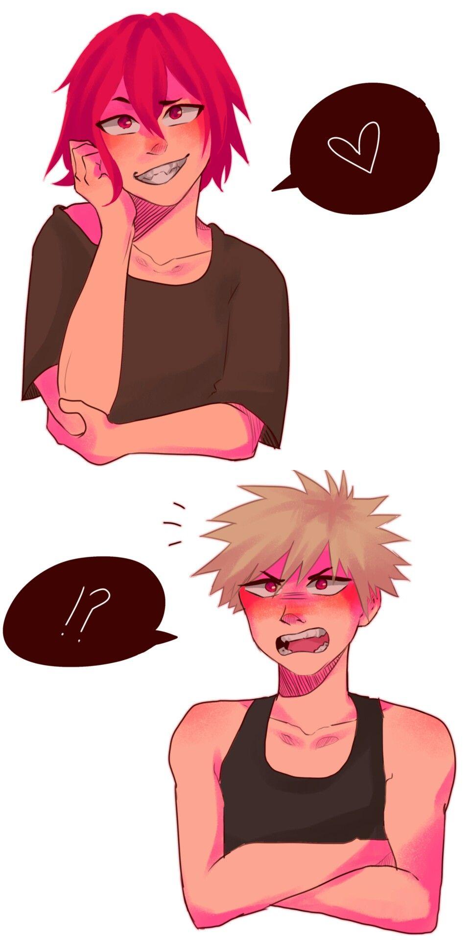 Аниме персонажи с короткими красными волосами (5)