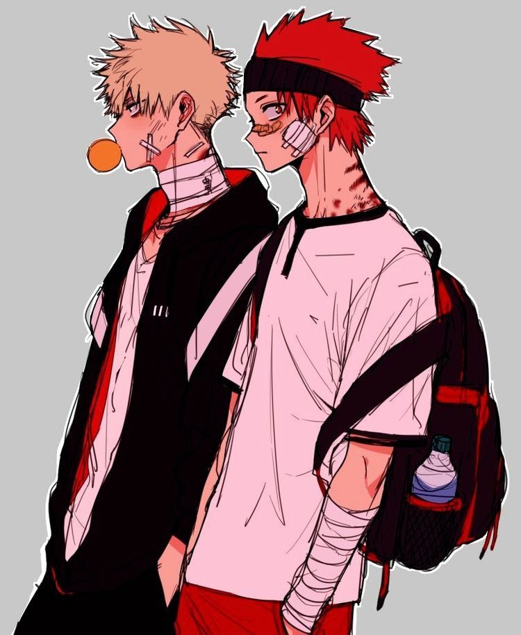 Аниме персонажи с короткими красными волосами (7)