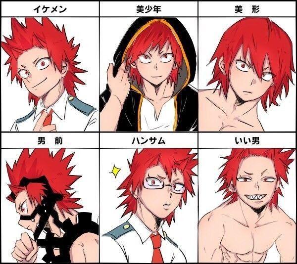 Аниме персонажи с короткими красными волосами (8)