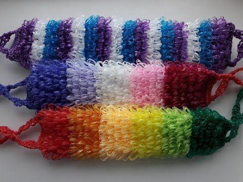Вязание ежика мочалки - красивые фото (12)