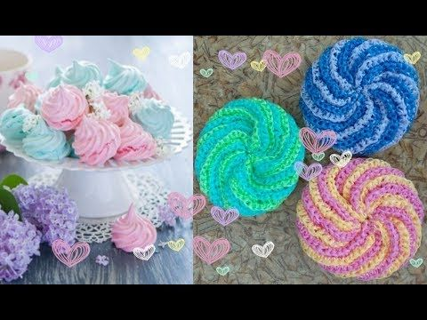 Вязание ежика мочалки - красивые фото (13)