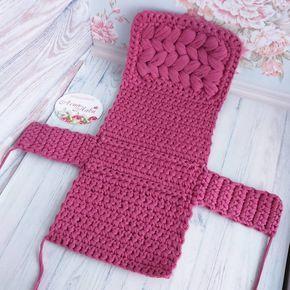 Вязание ежика мочалки - красивые фото (3)