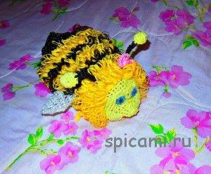 Вязание ежика мочалки - красивые фото (4)
