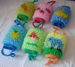 Вязание ежика мочалки - красивые фото (5)