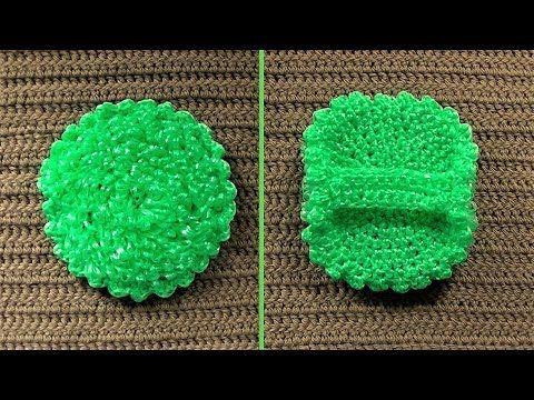 Вязание ежика мочалки   красивые фото (8)