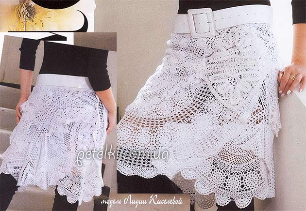 Вязание женских брюк крючком - фото (1)