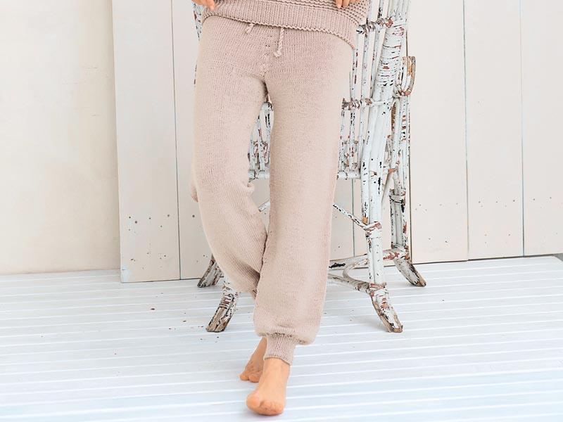 Вязание женских брюк крючком - фото (13)