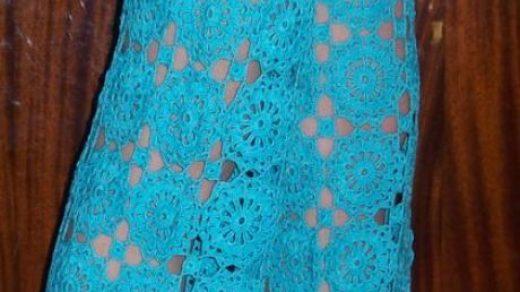 Вязание женских брюк крючком   фото (14)