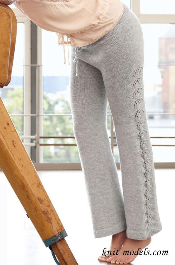 Вязание женских брюк крючком - фото (18)
