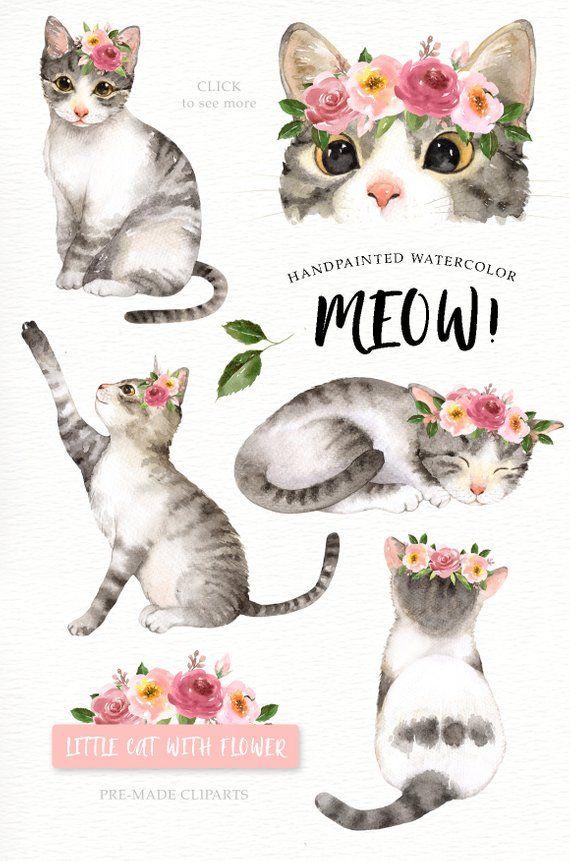 Графические рисунки кошек и собак - подборка (1)