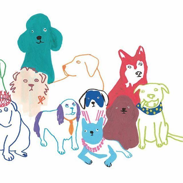 Графические рисунки кошек и собак - подборка (14)