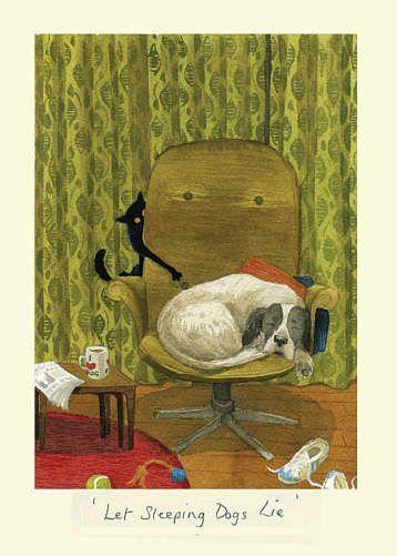 Графические рисунки кошек и собак - подборка (15)