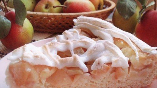 Грушевый пирог с крамблом   аппетитные фото (2)