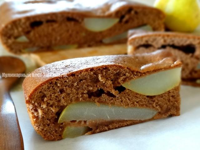 Грушевый пирог с крамблом - аппетитные фото (4)