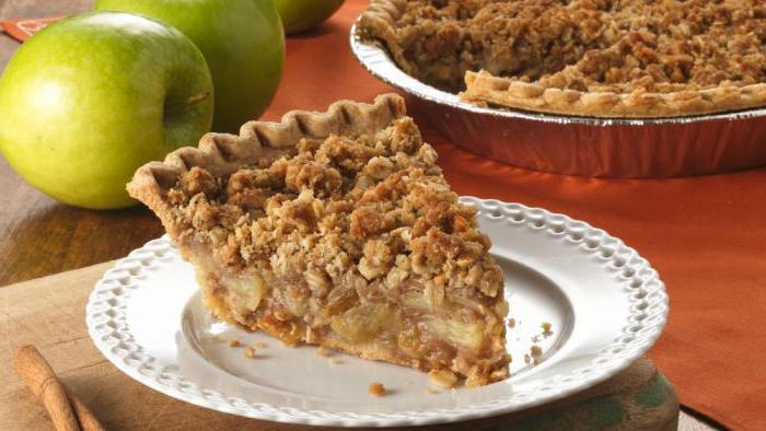 Грушевый пирог с крамблом - аппетитные фото (9)