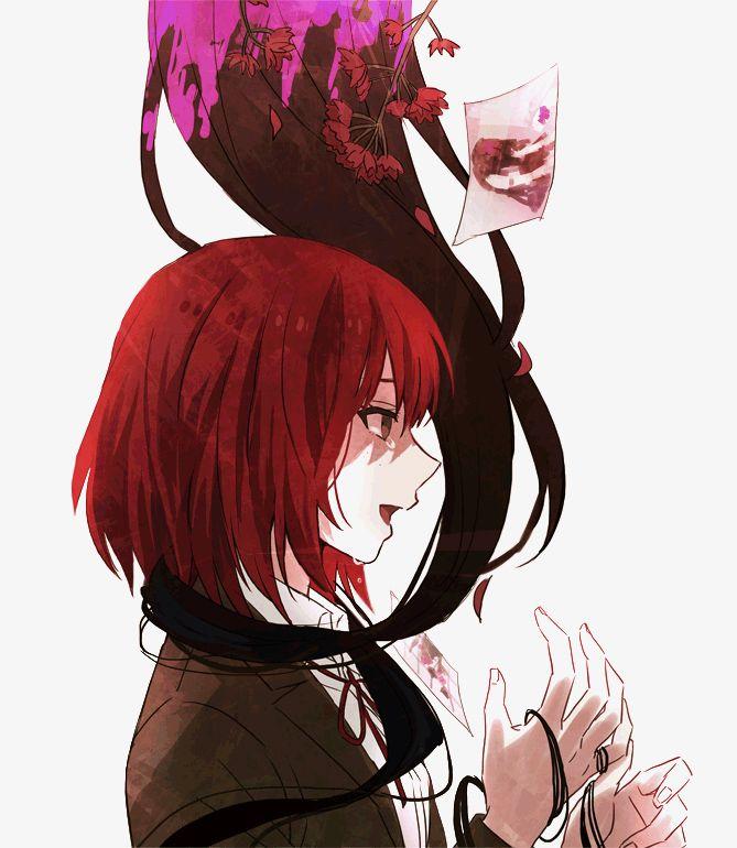 Девушка с рыжими волосами арты (3)