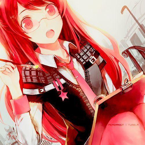 Девушка с рыжими волосами арты (5)