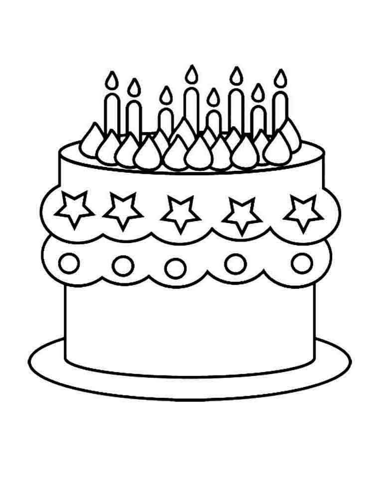 Детские трафареты для торта распечатать - картинки (18)