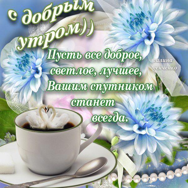 Доброе утро и хорошего дня картинки красивые для девушки (1)