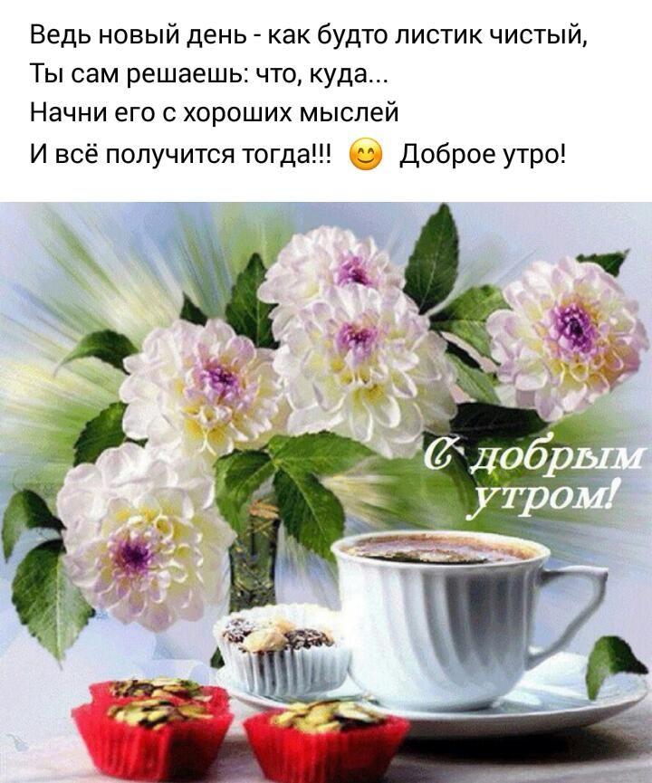 Доброе утро и хорошего дня картинки красивые для девушки (8)
