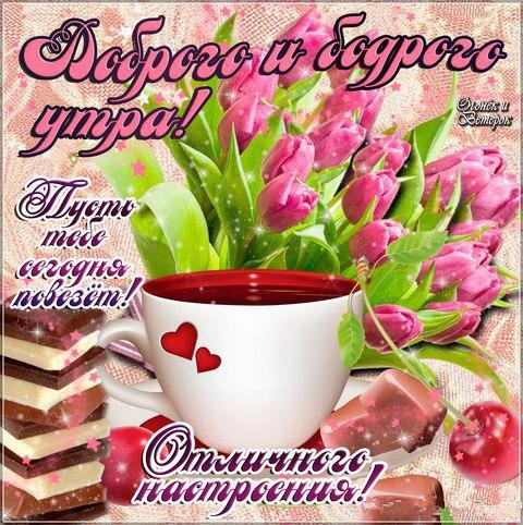 Доброе утро картинки цветы красивые с надписью девушке (11)