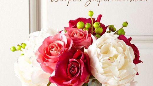 Доброе утро любимая картинки красивые цветы с пожеланиями (16)