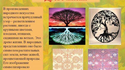 Изобразительное искусство дерево жизни   рисунки (1)