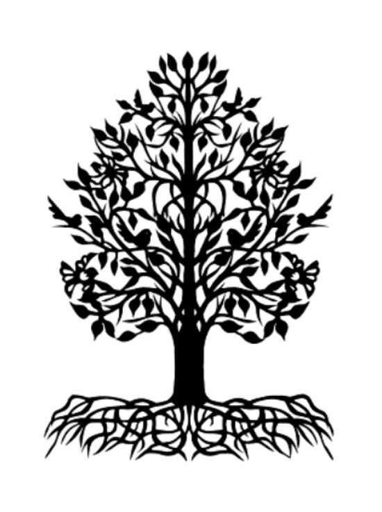 Изобразительное искусство дерево жизни - рисунки (13)