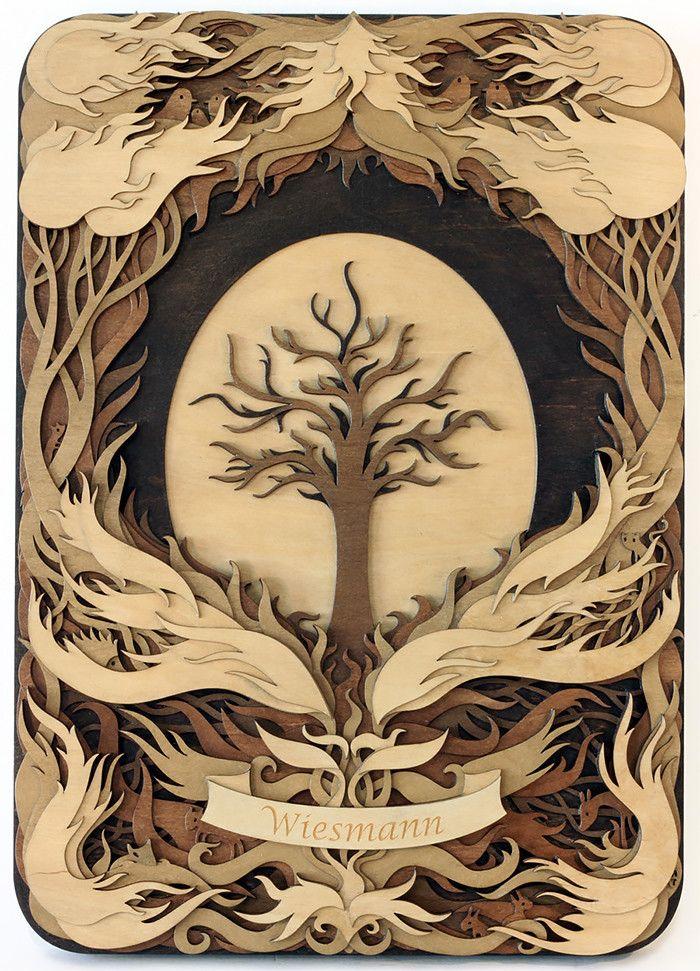 Изобразительное искусство дерево жизни - рисунки (18)