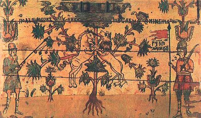 Изобразительное искусство дерево жизни - рисунки (6)