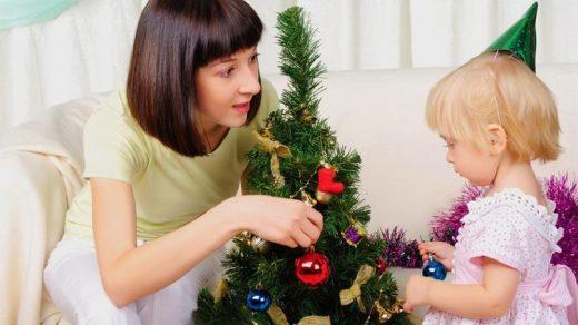 Как встретить Новый год с маленьким ребенком 1