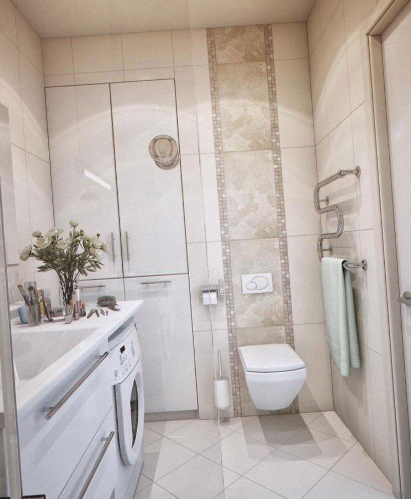 Как максимально красиво сделать маленькую ванную (1)